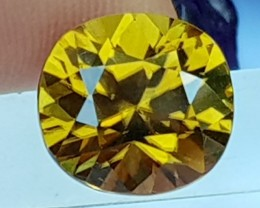 5.85cts,  Yellow Zircon,  VVS1 Eye Clean,