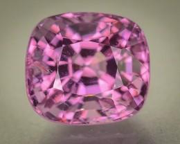 Gil Certified 3.34 ct Hot Pink Mogok Spinel Burma SKU.2