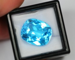NR Lot 02 ~ 17.18Ct Natural Swiss Blue Topaz