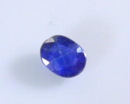 0.33ct Royal Blue Burmese Sapphire , 100% Natural Untreated Gemstone