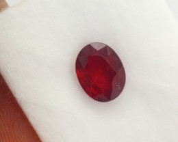 2.88Ct Natural Pigeon Blood Red Madagascar Ruby Oval Cut