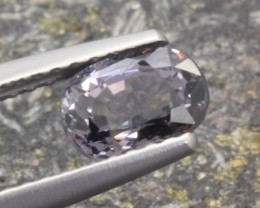 1.02Ct Natural Titanium Spinel Oval Cut