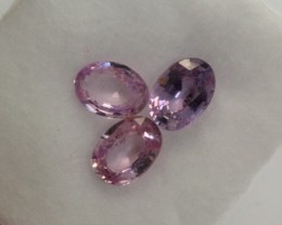 2.67Ct Natural Pink Sapphire Oval Jewelry Lot