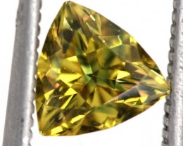 1.20 CTS NATURAL UNHEATED YELLOW  SAPPHIRE FACETED TBM-1335