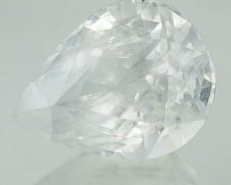 1.99 Cts Natural Corundum White Sapphire Pear