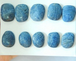 Sell 10pcs Natural Blue Coral Cabochons(17081808)