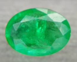 0.85Crt Natural Emerald Faceted Gemstone (R 56)