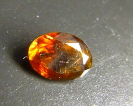 0.77ct Golden Tourmaline , 100% Natural Gemstone