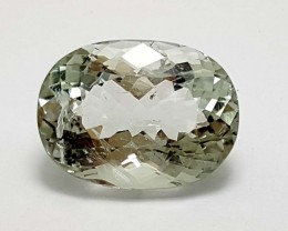 10 CT PRASOLITE OVAL CUT BEST QUALITY GEMSTONE IGC45