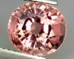 3.20 cts Attractive Natural pink Tourmaline Gemstone Oval Shape