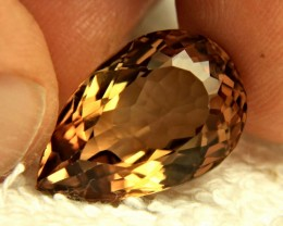 19.45 Carat Brazilian Golden Brown VVS Topaz