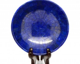 2175 Cts Natural lapis lazuli Carvid Bowl Stone Special Shape