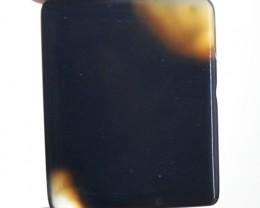 Genuine 28.40 Cts Black Onyx Cab