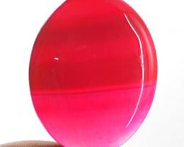 Genuine 68.90 Cts Pink Onyx Oval Shape Cab