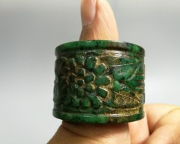 FROM A COLLECTION JADE ARCHER THUMB RING