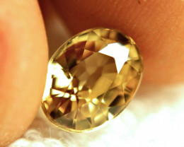 4.84 Carat VVS Golden Yellow Southeast Asian Zircon