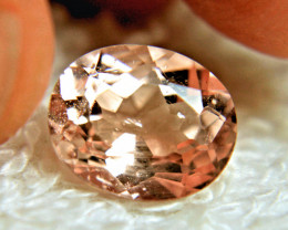 CERTIFIED - 3.76 Carat SI Pink Brazilian Morganite - Gorgeous