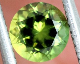 0.80CTS AUSTRALIAN green SAPPHIRE FACETED  PG-2270