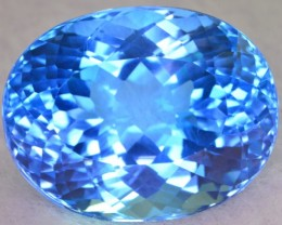 55.80 CT NATURAL BEAUTIFUL COLOR SWISS TOPAZ