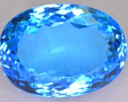 39 CT NATURAL BEAUTIFUL COLOR SWISS TOPAZ