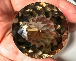 285.00cts Breath-taking Taupe Gold Smoky Quartz -Sensational