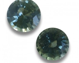Natural Unheated Green Sapphire|Loose Gemstone| Sri Lanka
