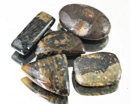 Genuine 88.50 Cts Untreated Dendrite Jasper Cab Lot
