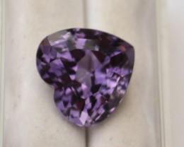 8.87 Carat Fantastic Amethyst Heart