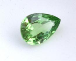 1.51 Carat Minty Tsavorite Garnet -- Certified Stone