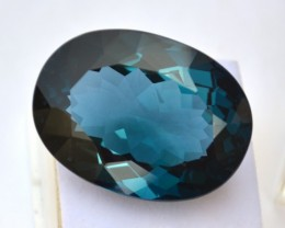 102.64 Carat Oval Cut Huge London Blue Topaz