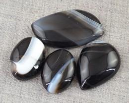 Genuine 73.50 Cts Black Onyx Cab Lot