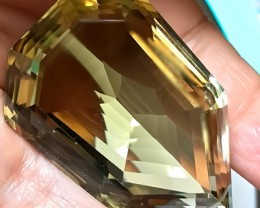 295.00ct COLLECTOR'S SPECIAL CUT CITRINE  VVS QUALITY GEM