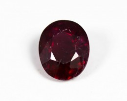 Red Ruby 0.44 ct Mozambique