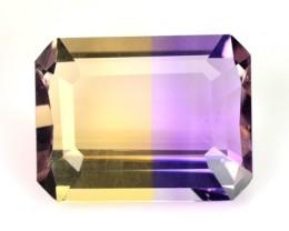 3.53 Cts Natural Ametrine Bi-Color Octagon Bolivia