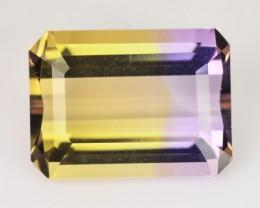 4.75 Cts Natural Ametrine Bi-Color Octagon Bolivia