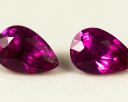 Red Ruby Total  0.495 ct Mozambique
