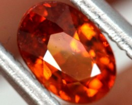 0.65 GARNET SPESSARTITE FACETED PG-2285