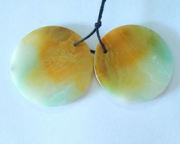Muti Color Amazonite Round Earring Beads,Fashion Charm Jewelry Valentine's