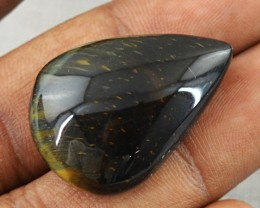 Genuine 32.50 Cts Golden Tiger Eye Untreated Cab
