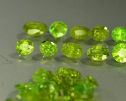 30.70 ct Natural Demantoid Garnet Lot