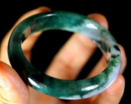 Green Jadeite Jade Bangle Bracelet 292.5ct,54.6mm