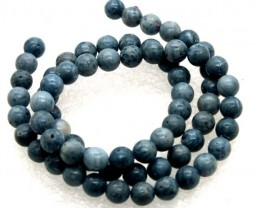 95 CTS BLUE CORAL BEADS  NP-2298