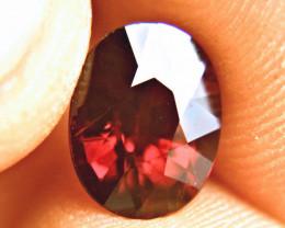3.42 Carat VS Flashy African Rhodolite Garnet - Beautiful