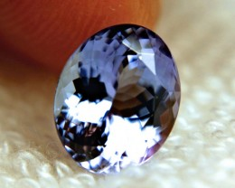 4.15 Carat IF/VVS1 African Purple Blue Tanzanite