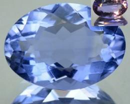 6.83 Cts Natural Color Change Fluorite Oval Cut Brazil Gem