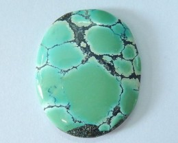 26.5ct Semiprecious High Quality Turquoise Cabochon,Charm Cab Gemstone For