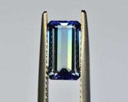 1.89 Cts VVS Astonishing Bi Color Tanzanite
