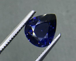 1.65 CT VIVID BLUE SPINEL ( COBALT ) HIGH QUALITY GEMSTONE