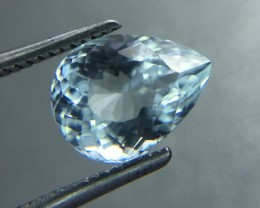 Natural Aquamarine Awesome Luster and Cut Gemstone KJ6
