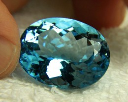 42.67 Carat Baby Blue Brazilian IF/VVS1 Topaz - Gorgeous